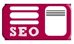 Button SEO Suchmaschinenoptimierung Infos