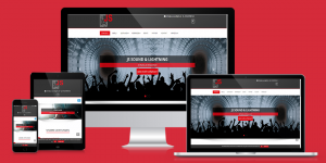js-sound-and-lights-responsive-webseite