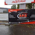 Bauzaunbanner ARB Automobile Wetzlar - Laufdorf