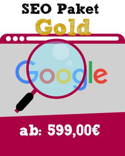 SEO Paket ab Vorlage Gold