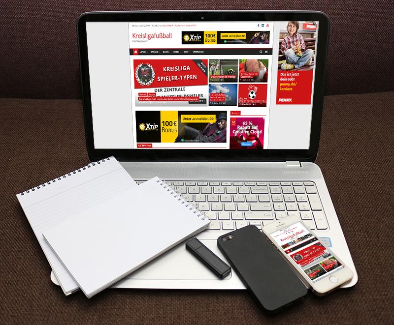 Webseite Kreisligafussball
