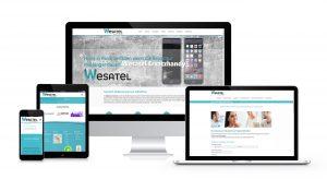Webdesign Für Steuerberater und Steuerbüros - Wesatel neue Webseite im Responsive Design