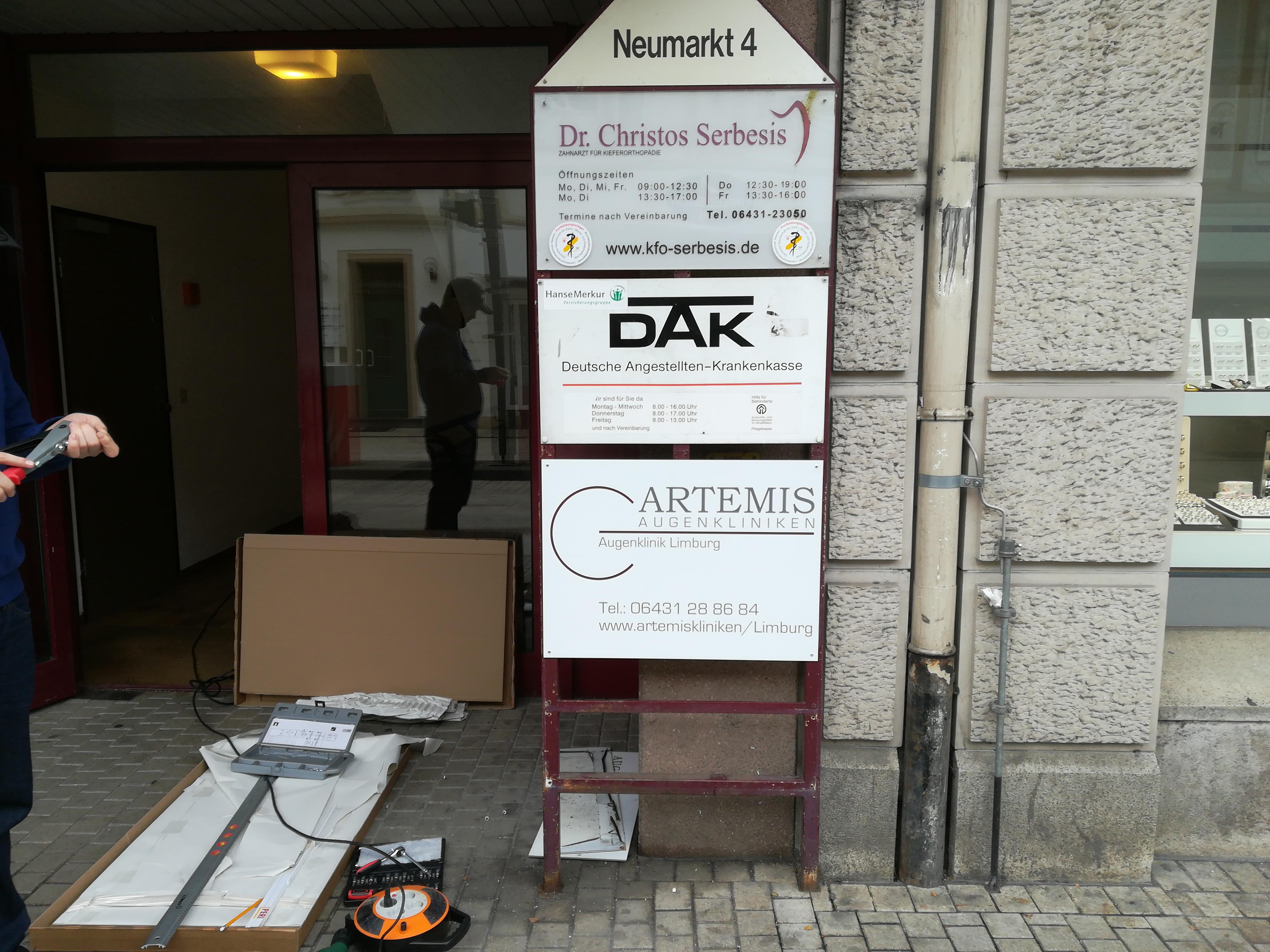 ARTEMIS Augenkliniken Limburg Neumarkt Straße 2 Nachher