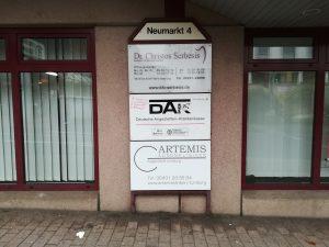 Werbeschilder Limburg und Beschilderung in Limburg