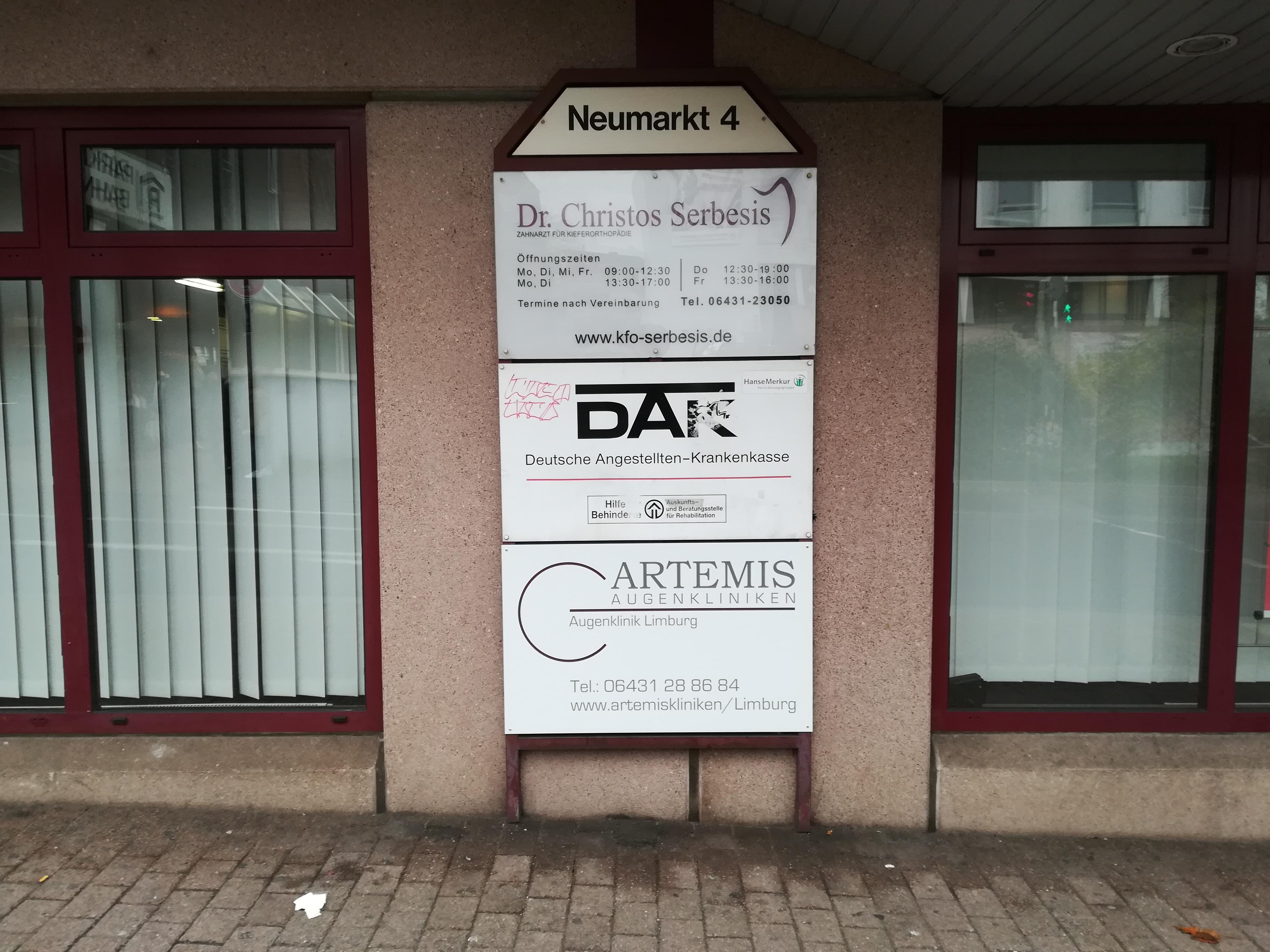 ARTEMIS Augenkliniken Limburg Neumarkt Straße 1 Nachher