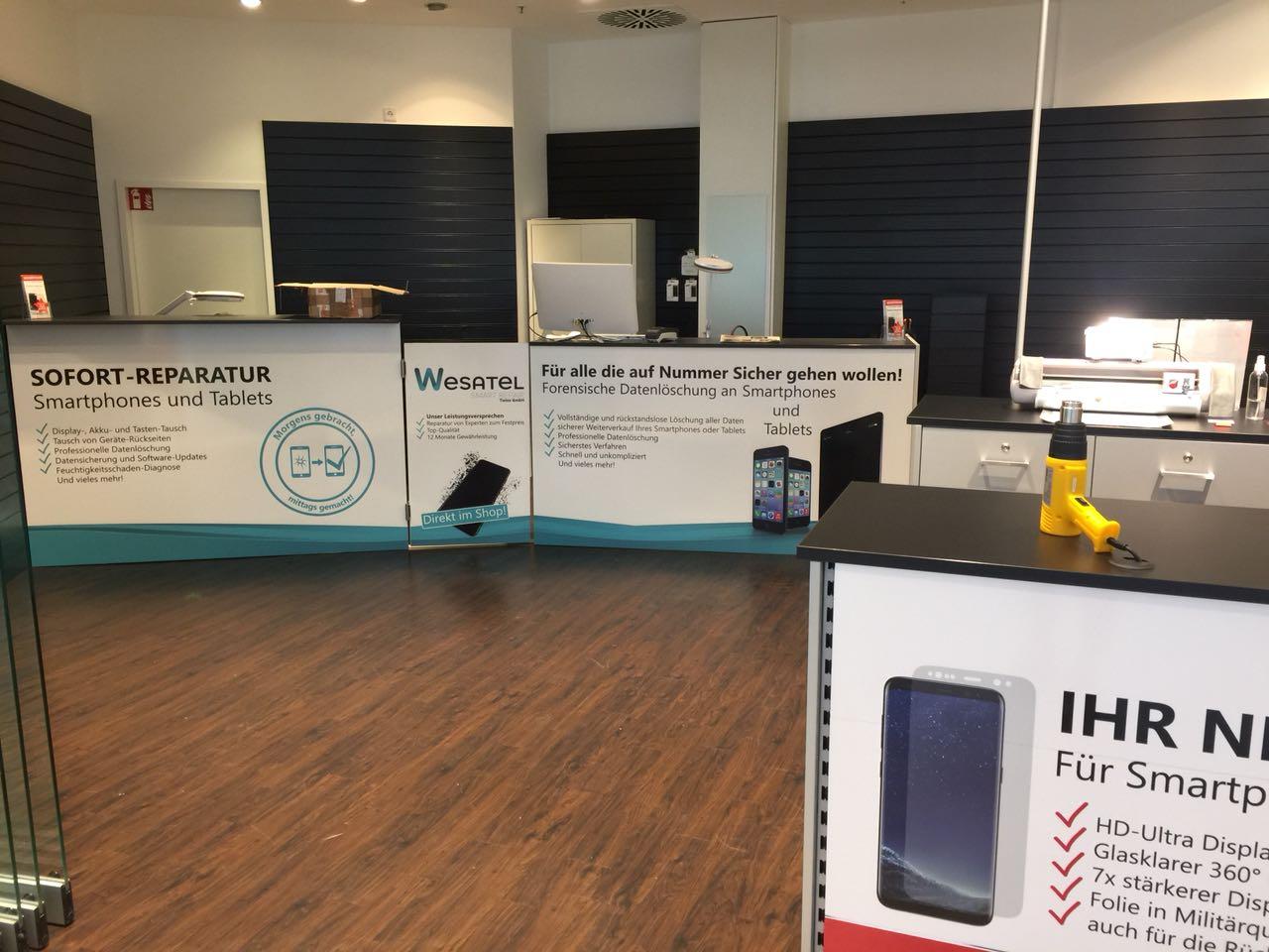 Wesatel Leverkusen Handy Reparatur und Tablet Reparatur