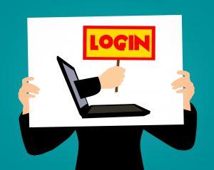 Login, anmelden bei einer WordPress, joomla!, typo3, Shopware, Contao Webseite