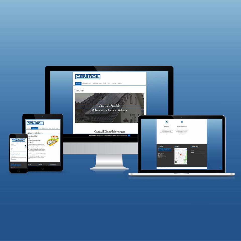 Responsive Webdesign Centroil