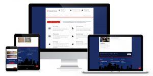 Responsive Webdesign MS Gebäude Service