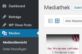 wordpress-medien-hinzufuegen