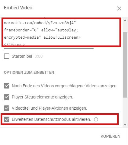 youtube-wordpress-einbinden