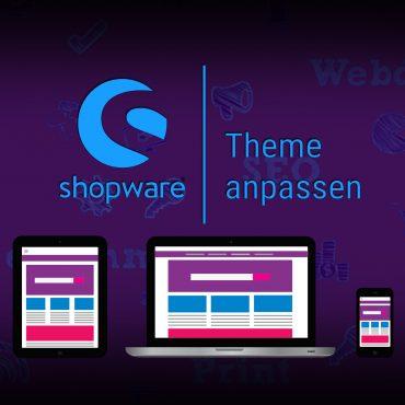 Anleitung: Shopware Theme anpassen