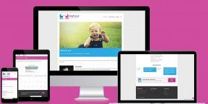 Kidsportrait Webseite / Webdesign